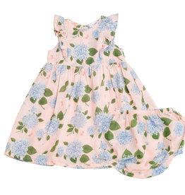 Angel Dear Hydrangea Pink Dress 6/12M-4T