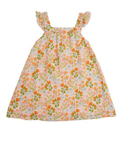 Angel Dear Honest Earth Floral Pinafore Top w/Bloomer 3/6M-18/24M