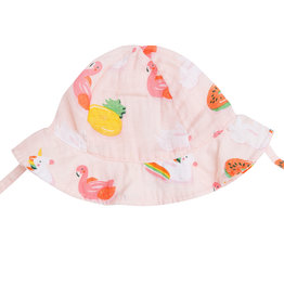 Angel Dear Floaties Pink Sunhat