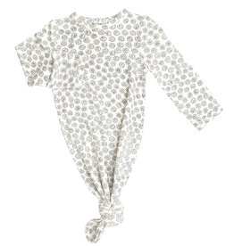 Angel Dear Doodle Daisy Knotted Gown 0/3M