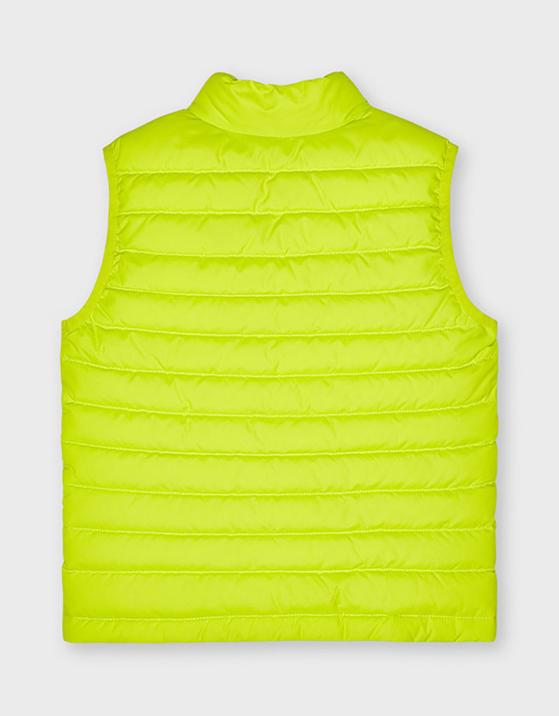Mayoral Padded Vest Lime
