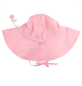 Ruffle Butts Sun Hat Protective Pink 0/6M-2/4T