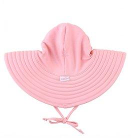 Ruffle Butts Swim Hat Pink 0/12M, 12M/2T