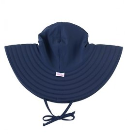 Ruffle Butts Swim Hat Navy
