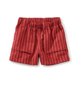 Tea Collection Camp Shorts Earth Red