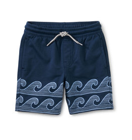 Tea Collection Beach Shorts Whale Blue 2-12