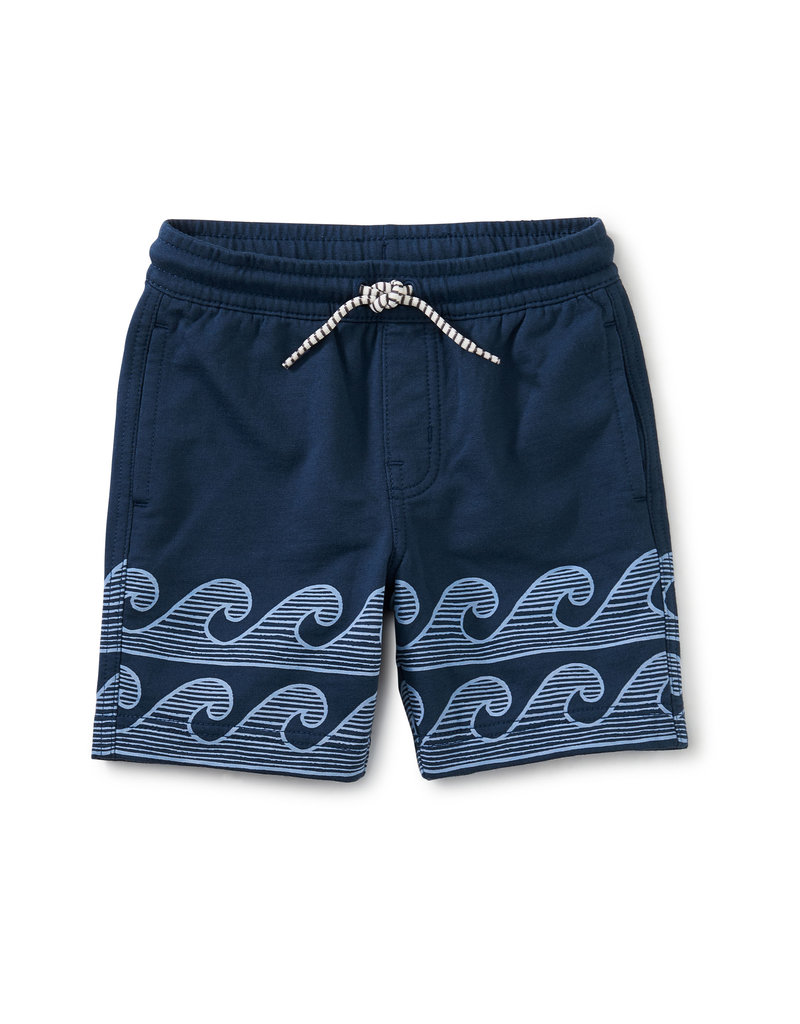 Tea Collection Beach Shorts Whale Blue