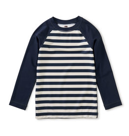Tea Collection L/S Rash Guard Swim Stripe
