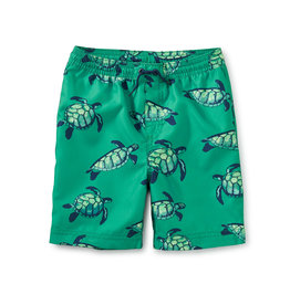 Tea Collection Full-Length Swim Trunk Sea Turtles
