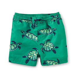 Tea Collection Full-Length Swim Trunks  Sea Turtles 3/6M-18/24M