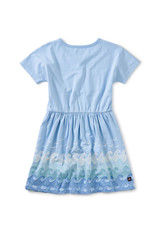 Tea Collection Twirl Dress Placid Blue