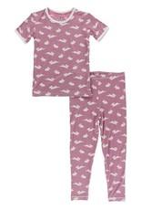 Kickee Pants Print S/S PJ Set Pegasus Bunny