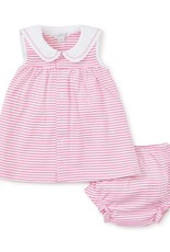 Kissy Kissy Breaching Whales Dress Set Fuchsia