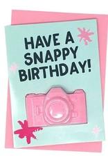 Feeling Smitten Bath Bakery Have a Snappy Birthday! Bath Card