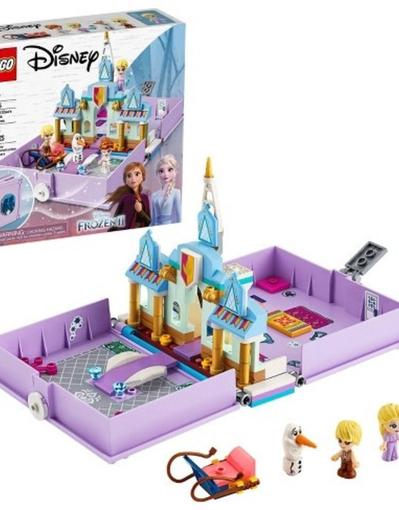 Lego Anna and Elsa's Storybook Adventures 43175