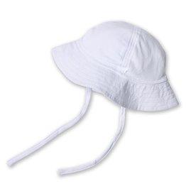 Zutano Sun Hat White 6M-2T