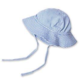 Zutano Sun Hat Candy Stripe Periwinkle