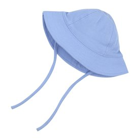 Zutano Sun Hat Organic Cotton Lt Blue 6M-24M
