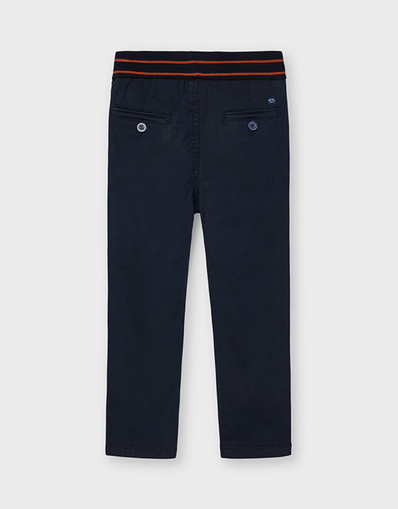 Mayoral Patent Pant Navy
