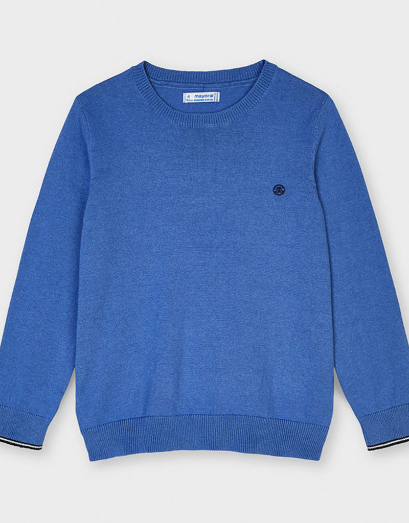 Mayoral Crew Neck Sweater Waves