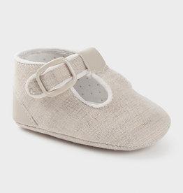 Mayoral Shoes Linen 5/7M-9/11M