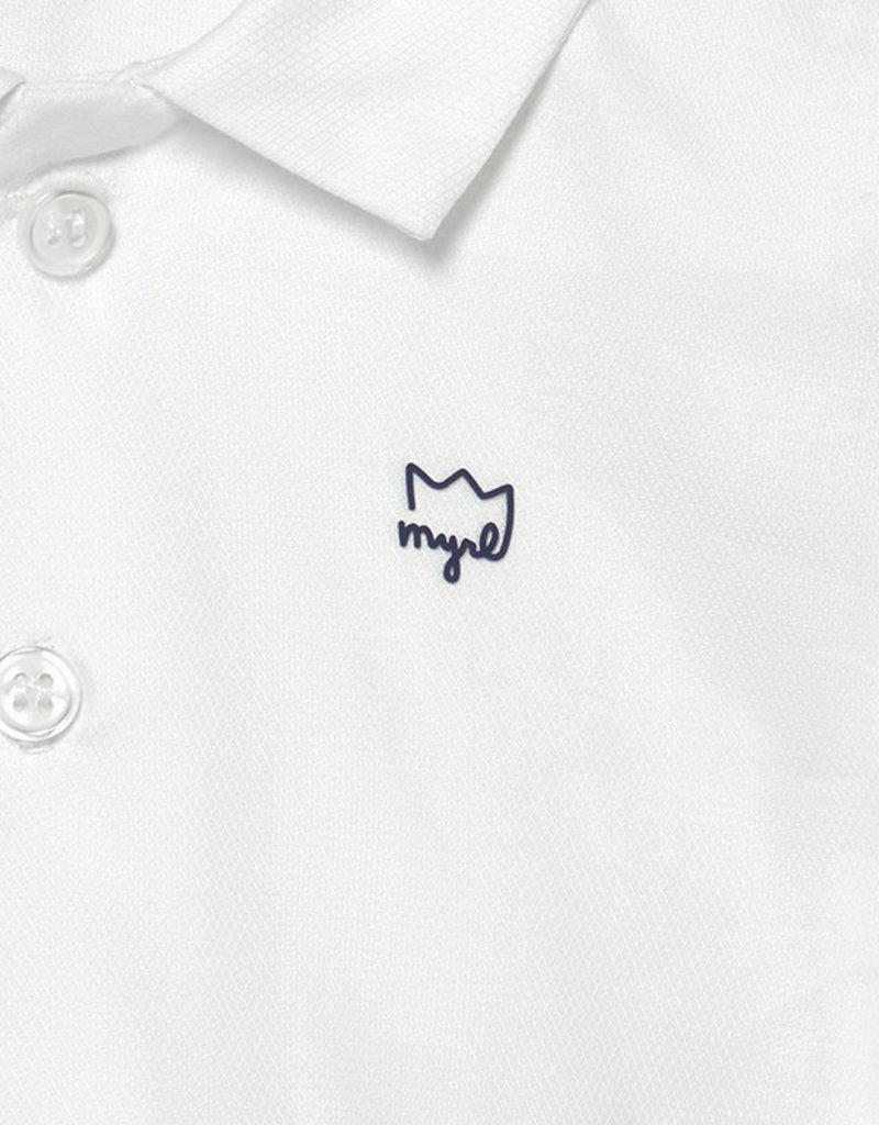 Mayoral S/S White Body Shirt