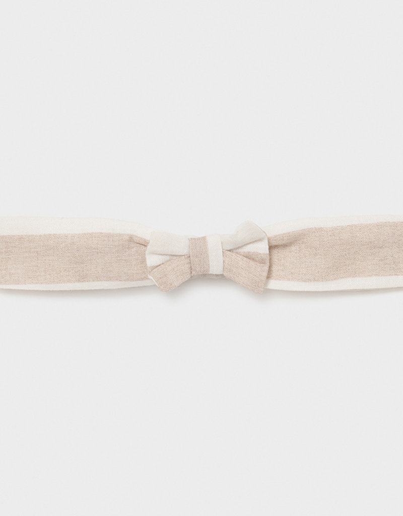 Mayoral Onesie w/Headband Linen