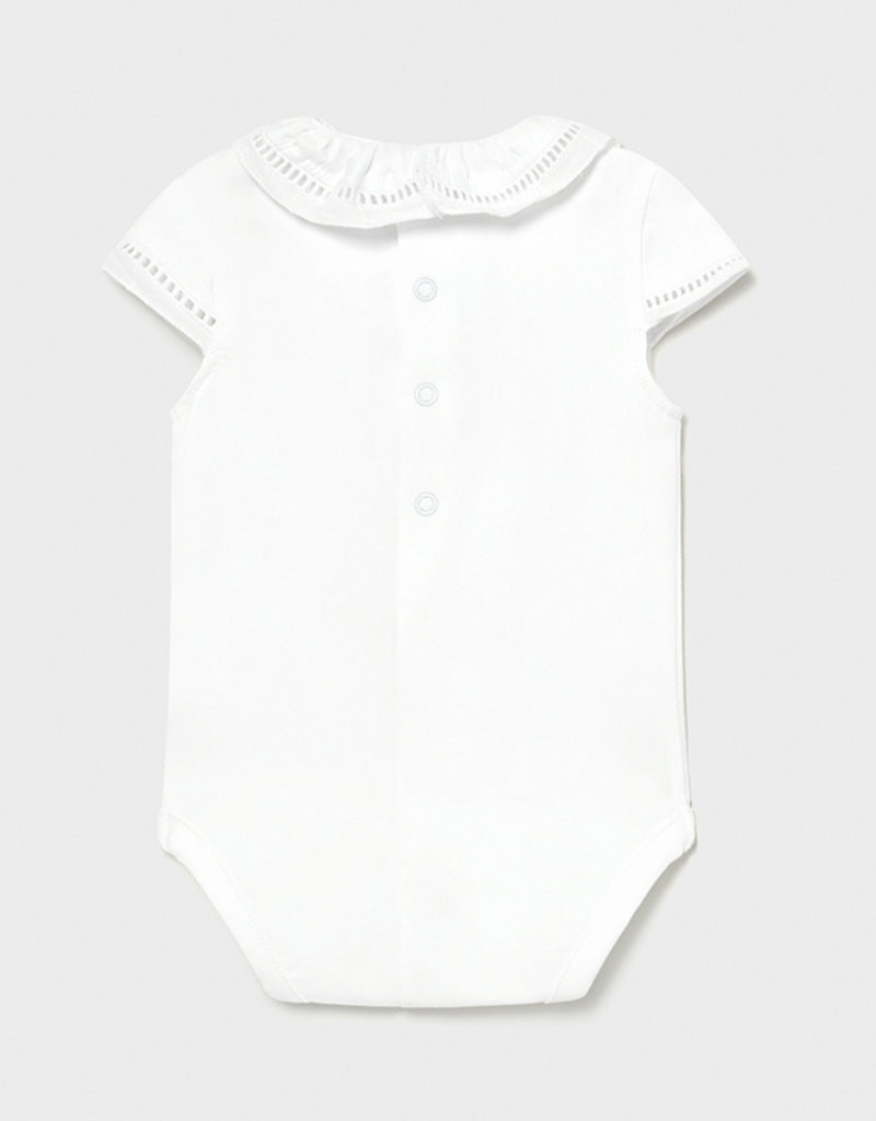 Mayoral White Bodysuit