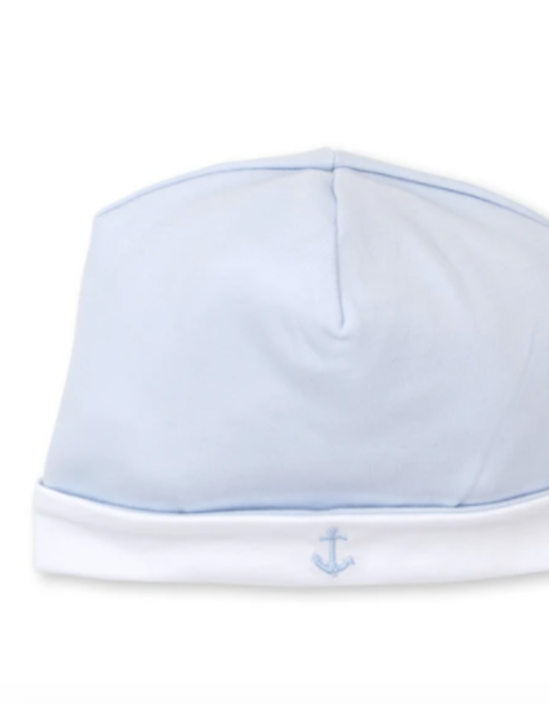 Kissy Kissy Classic Treasures Hat w Embroidery Blue