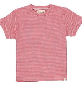Me & Henry Camber Tee Red Micro Stripe