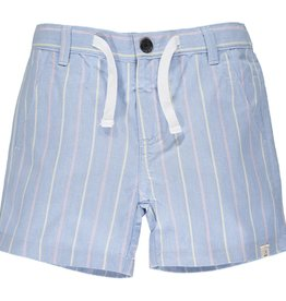 Me & Henry Crew Shorts Blue/Red/Yellow Stripe 2/3-12
