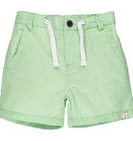 Me & Henry Crew Shorts Lime Seersucker 2-12