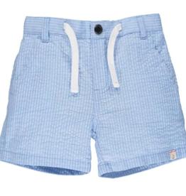 Me & Henry Crew Shorts Pale Blue Seersucker 3/4-12