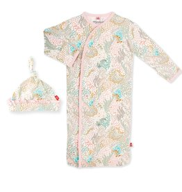 Magnetic Me Coral Cay Modal Gown Set 0/3M