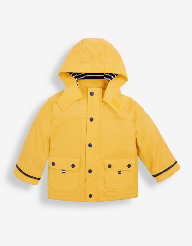 JoJo Maman BeBe Yellow Fisherman's Jacket