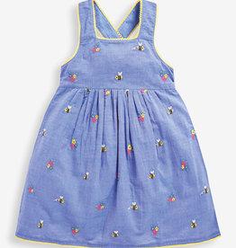 JoJo Maman BeBe Bee Embroidered Dress 2/3-5/6