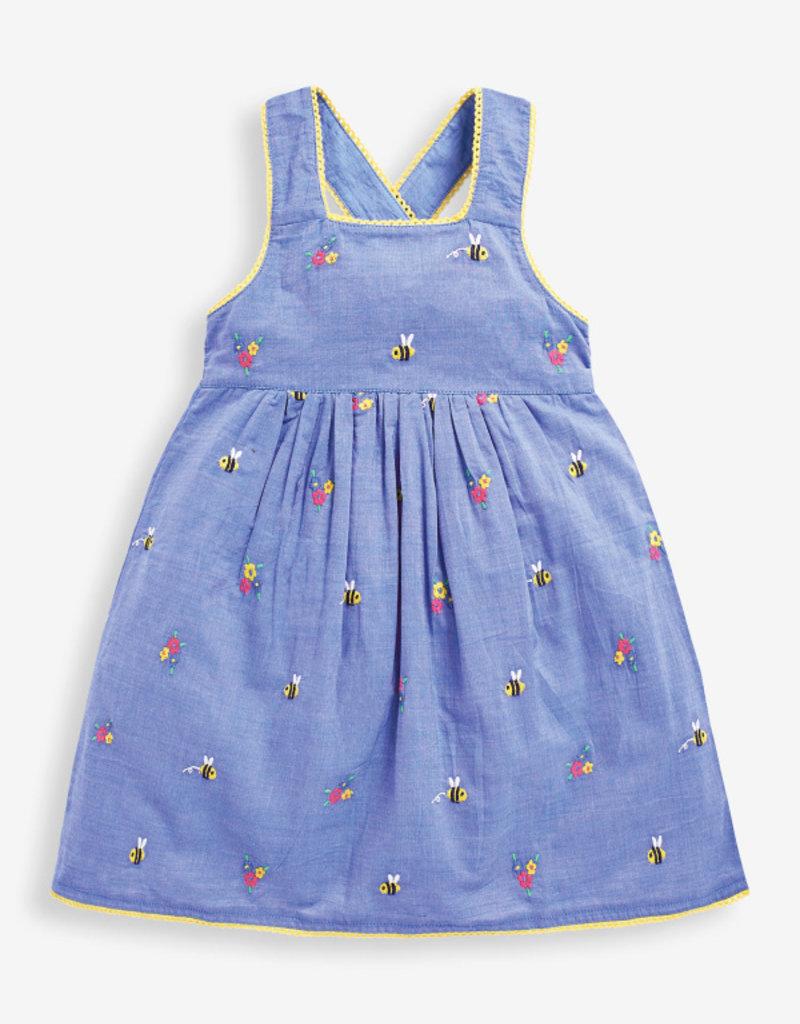 JoJo Maman BeBe Bee Embroidered Dress