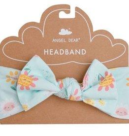 Angel Dear Hello Daisy Blue Headband 12/24M
