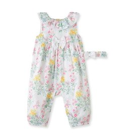 Little Me Scented Garden Coverall 3M-9M