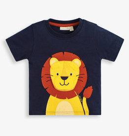 JoJo Maman BeBe Lion Applique Tee