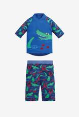 JoJo Maman BeBe Sun Protection 2 pc Suit Croc