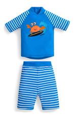 JoJo Maman BeBe Sun Protection 2pc Suit Crab