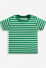 JoJo Maman BeBe Brenton Green Stripe T Shirt