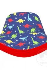 Wee Ones Reversible Boys Bucket Hat Dinos