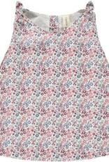 Vignette Clover Red Floral Top