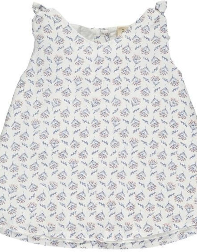 Vignette Clover Cream Floral Top