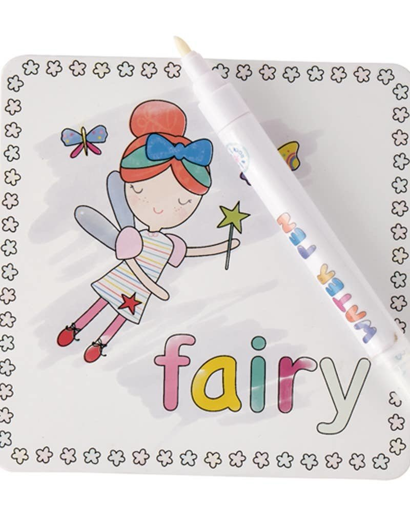 Floss and Rock Rainbow Fairy Water Pen and Cards