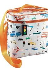 Floss and Rock Lunch Bag w/Bottle Holder Transportation