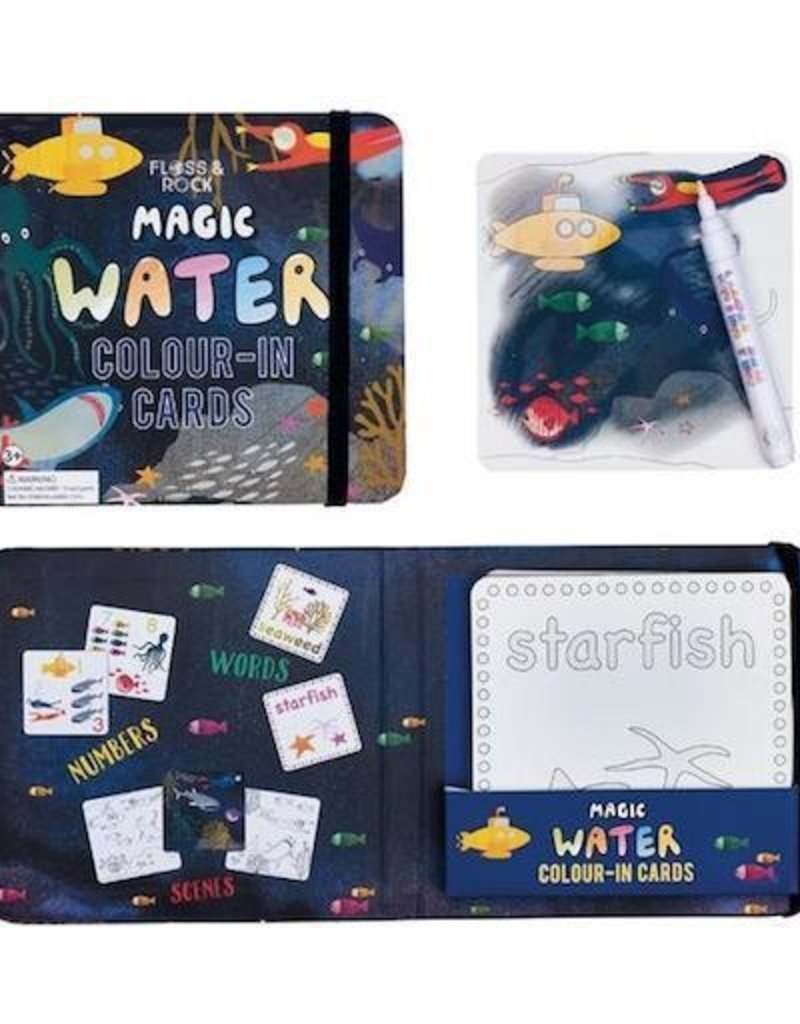 Floss and Rock Deep Sea Water Pen and Cards
