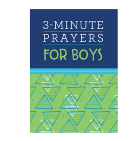 Barbour Publishing 3 Minute Prayers for Boys
